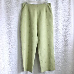 Tory Richard Honolulu Linen Pineapple Pants